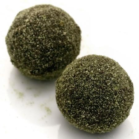 Sumos Never Sleep: dark chocolate truffles with ceremonial grade Japanese Matcha green tea