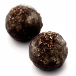 Yo-Ho-Ho: dark chocolate truffles with Caribbean dark rum