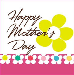 Happy Mother's Day card for chocolate gifts