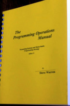 THE PROGRAMMING OPERATIONS MANUAL Steve Warren Radio Book