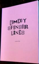 COMEDY SPONSOR LINES Radio Comedy Service Show Prep Dan O'Day Book