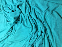 MERMAID TEAL RAYON/LYCRA CREPE JERSEY KNIT