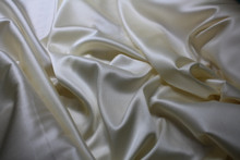CREAM STRETCH SILK CHARMEUSE