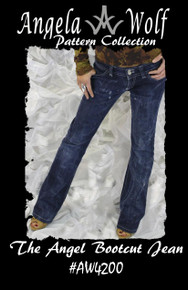 AW4200 The Angel Bootcut Jean