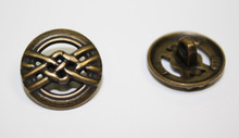 Brass Metal Button 20mm Shank