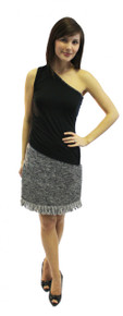 The Fringe Skirt #AW3106 Angela Wolf Pattern Collection