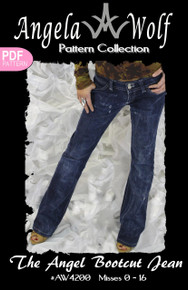 Angel Bootcut Jean | Angela Wolf Patterns