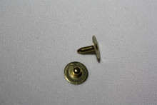 Brass Nipple Jean Rivet - Package of 12