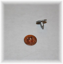Copper Jean Nipple Rivet - Package of 12