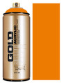 Montana Gold Artist Spray Paint  Shock Orange Light