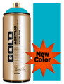 Montana Gold Artist Spray Paint   100% Cyan
