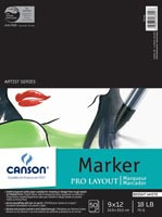 Canson Pro-Marker pad 9 x 12