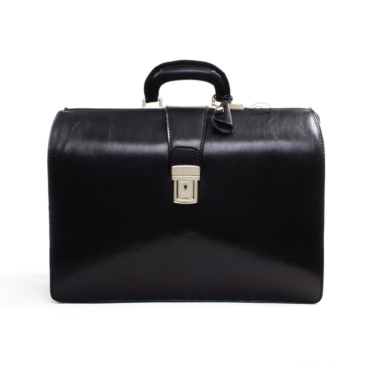 Laptop bags office depot - The Toscana Brief Is The Classic Litigator Attache In Black