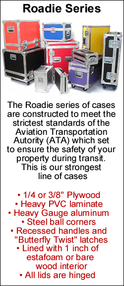 roadie series ata cases