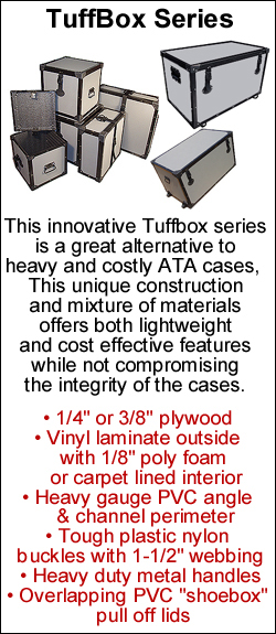 tuffbox series travel cases and shipping cases