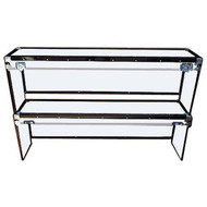 "Convertible ATA 3/8"" Case for Convention Furniture - Dual Shelf Case"