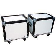 """Convertible ATA 3/8"""" Case for Convention Furniture - Dual Stools Case"""