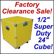 "Super Duty 24"" Cube Case Kit Supply Trunk - CLOSEOUT! Yellow"