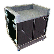 Double Rack With Mixer Top - Custom Made For Most Mixers