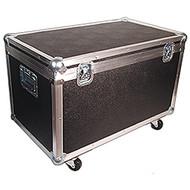 "Equipment & Supply Trunk w/Wheels - ID 29 1/2"" x 16 1/2"" x 16 1/2"" H"