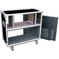 "6 U Rack/Head Combo ATA Style 3/8"" Case 'Latchless Flat Lid Design'"