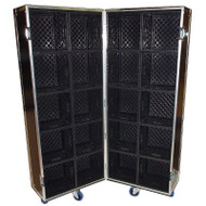 Merchandise Case Holds 20 Cube Milk Crates for Products - Great Display!