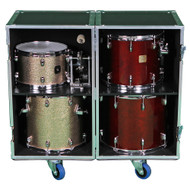 2 Sided Combo ATA Drum Case w/Adjustable Shelves #181830