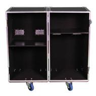 2 Sided Utility Trunk w/Adjust Shelves - ID 20x20x36 Ea Side