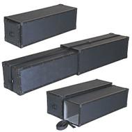 "Extendable TuffBox Telescoping Case - ID 12""x12""x48"" to 90"" Long"