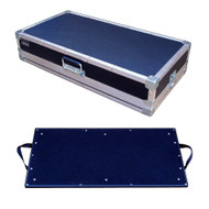 "Effect Pedal Board Inside 1/4"" Ply ATA Case - 3 Sizes Start @ $149"