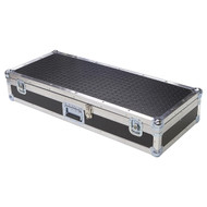 "Diamond Plate Laminate 1/4"" Med Duty ATA Keyboard Case"