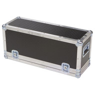 "Diamond Plate Laminate 1/4"" Med Duty ATA Case for Powered Mixer"