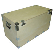"""Extra High Heavy Duty Crate Style Cable Trunk Inside Dimensions 44"""" x 21"""" x 25"""""""