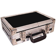 "Handy ATA Mini Breifcase - 1000 Uses 1/4"" Plywood ATA Construction Finished with High Quality Nikel Plated Hardware Carpet Lined Intrerior Complete with Adjustable Should Strap Inside Dimensions 14"" x 10"" x 3-3/4"