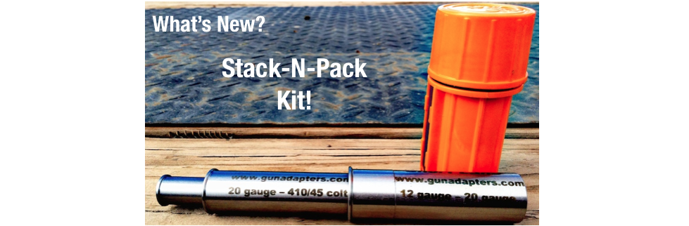 What's New? Stack-N-Pack Kit