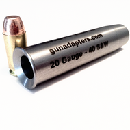 Scavenger Series 20 Gauge to 40 S&W Smooth Bore Shotgun Adapter
