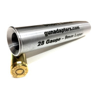Smooth Bore 12 gauge to 9mm Luger Shotgun Adapter
