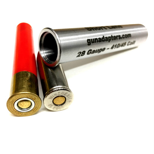 20 gauge to 410/45 Colt Chamber Adapter