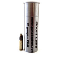 Smooth Bore 12 gauge to .22 LR Chamber Insert.