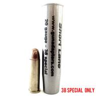 Smooth Bore 20 gauge to 38 Special Shotgun Adapter