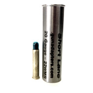 Smooth Bore 20 gauge to .22 WMR Shotgun Adapter