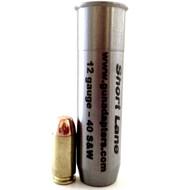 Smooth Bore 12 gauge to 40 S&W Shotgun Adapter