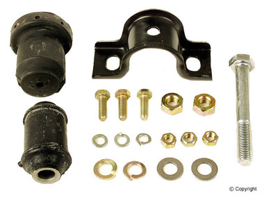 Contains : 1, bracket, 2, bushings, 4, bolts, 5, nuts, 7, washers.