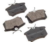Brake Pad Set. Rear. PBR Ultimate Ceramic