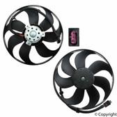 Fan. Main/left 345mm. Electric. 250/60w. Febi