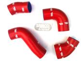 Samco 'G60'  Boost Hose Set. Red