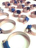 Hose Clamp Set. VR6 (for OE/rubber hoses)