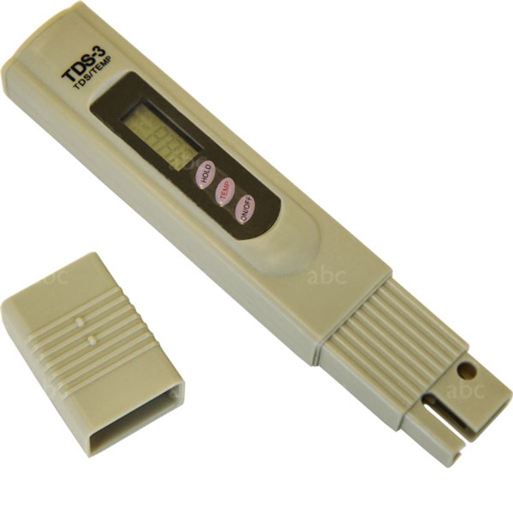 Hand Held Battery Tester : Wfc meter hand held tds tester battery operated