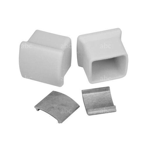 Ladder Accessory --  Replacement Rubber Pad End Caps - Fits Werner AC78