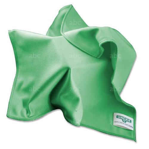 "Towel -- Microfiber - Unger - Green 16"" x 16"" - Each"